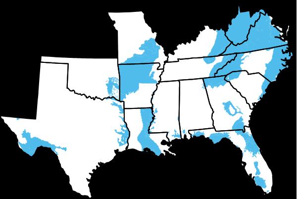 Current Black Bear Territories
