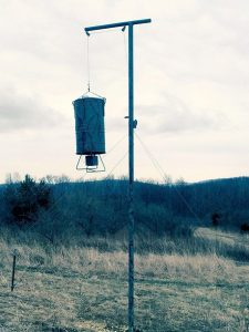 bear-resistant deer feeder