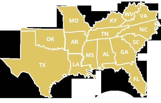 SEAFWA states